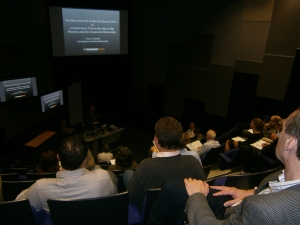 Professor Scott Martin's opening lecture