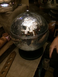 Closed Disco Ball Punch Bowl