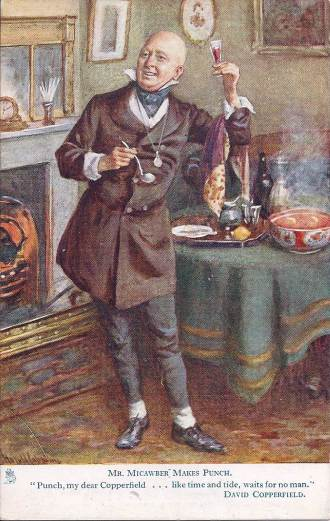 Mr Micawber Makes Punch