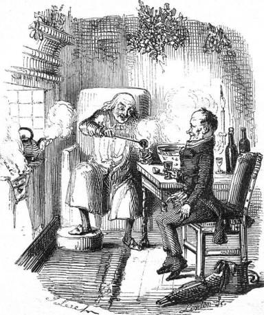 Scrooge-punch-John-Leech