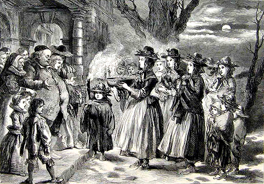 The_Wassail_Bowl_Sir_John_Gilbert 1860