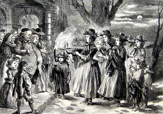 The_Wassail_Bowl_Sir_John_Gilbert 1860